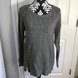 3/$25🖤☠️ Banana republic side zip sparkly sweater